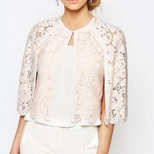 Ted Baker Pink Lace Cape